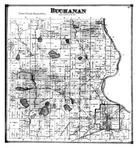 Buchanan Township, Mudron Lake, Berrien County 1873