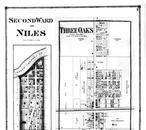 Niles - Second Ward - Three Oaks - Above, Berrien County 1873