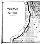 Niles - Third Ward - Left, Berrien County 1873