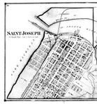 Saint Joseph - Left, Berrien County 1873