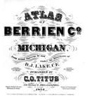 Title Page, Berrien County 1873