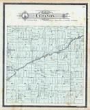 Lebanon Township, Hubbardston, Matherton, Clinton County 1896