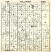 Coldwater Township, Sherman City, Brinton, Isabella County 1929