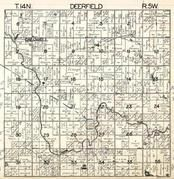 Deerfield Township, Caldwell, Chippewa River, Isabella County 1929