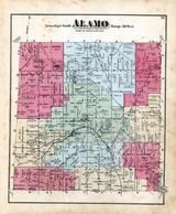 Alamo Township, Alamo Centre, Kalamazoo County 1873 Published by F. W. Beers