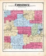 Comstock Township, Galesburg, Long Lake, Kalamazoo County 1873 Published by F. W. Beers