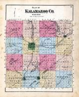 Index Map, Kalamazoo County 1873 Published by F. W. Beers