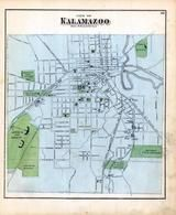 Kalamazoo 1, Kalamazoo County 1873 Published by F. W. Beers
