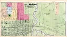 Kalamazoo 3, Kalamazoo County 1873 Published by F. W. Beers