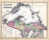 Lake Superior, Kalamazoo County 1873 Published by F. W. Beers
