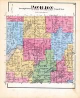 Pavilion Township, Indian Lake, Fast Lake, Pickerel Lake, Scott, Kalamazoo County 1873 Published by F. W. Beers