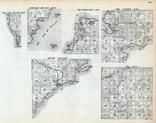 Delta County, Bay De Noc, Fairbanks, Garden, T. 37 and 38 R. 22 and 23, Green Bay, Michigan - Northern 1900
