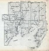 Index Map - Delta County, Michigan - Northern 1900