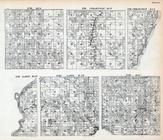 Mackinac County - Dedarville, Lake, T. 35 R. 27, T. 36 R. 26, Michigan - Northern 1900