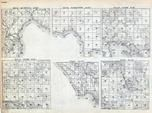 Mackinac County - St. Ignace, Marquette, Clark, T. 44 N. R. 4 and 5 W., Michigan - Northern 1900