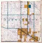 Farmington Township, North Farmington, Oakland County 1925