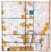 Troy Township, Big Beaver, Halsey, Troy Corners, Oakland County 1925