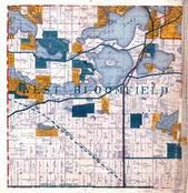 West Bloomfield Township, Sylvan Lake Village, Oakland County 1925