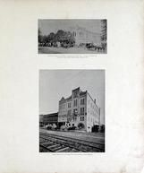 Bartow and Enright's Omnibus, Carriage and Coupe Line, Saginaw Milling Company, Saginaw County 1896