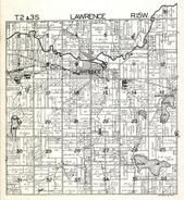 Lawrence Township, Christie Lake, Reynolds, Shaefer, Paw Paw River, Van Buren County 1930c