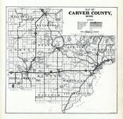 Carver county 1926 minnesota historical atlas index map carver county 1926 sciox Image collections