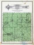 Leon Township, Clearbrook, Olberg, Beard, Clearwater County 1912 Published by The Kenyon Co