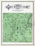 Minerva Township, Upper Rice Lake, Zerkel P.O., Minerva, Clearwater County 1912 Published by The Kenyon Co