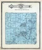 Allen Township, Fox Lake, Mitchell, Kego, Eagle, Trout, Crow Wing County 1913