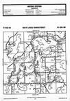 Map Image 017, Crow Wing County 1987 Published by Farm and Home Publishers, LTD