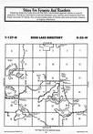 Map Image 036, Crow Wing County 1987 Published by Farm and Home Publishers, LTD