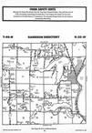 Map Image 053, Crow Wing County 1987 Published by Farm and Home Publishers, LTD