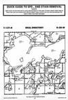 Map Image 057, Crow Wing County 1987 Published by Farm and Home Publishers, LTD