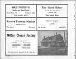 Mahler Furniture, Reiters Fairway Market, Plato E. Sargent, Anderson, Milton Cheese Factory