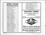 Dodge County Farmers Directory 001, Dodge County 1952