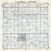 Claremont Township, Dodge County 1952