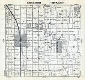 Concord Township, West Concord, Dodge County 1952