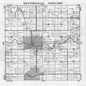Mantorville Township, Dodge County 1952