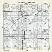 Milton Township, Berne, Dodge County 1952