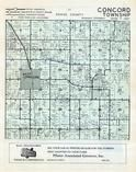 Dodge County - Concord Township, West Concord, Dodge and Olmsted Counties 1956c