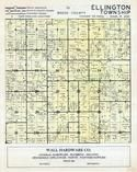 Dodge County - Ellington Township, Dodge and Olmsted Counties 1956c
