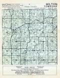 Dodge County - Milton Township, Berne, Dodge and Olmsted Counties 1956c