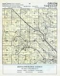 Olmsted County - Orion Township, Cummingville, Dodge and Olmsted Counties 1956c