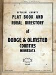 Title Page, Dodge and Olmsted Counties 1956c