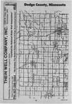 Dodge County Index Map 1, Dodge and Steele Counties 1988
