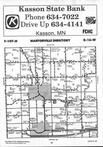 Dodge County Map Image 014, Dodge and Steele Counties 1991