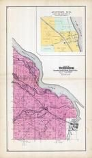 Burnside Township, Auditor's Subdivision, Red Wing, Cannon, Eggleston, Sturgeon Lake, Goose Lake, Goodhue County 1894