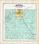 Kenyon Township, Skyberg, Bakko, Zumbro River, Bird Creek, Goodhue County 1894