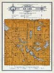 Elk Lake Township, Lake Peterson, Olson Lake, Grant County 1914