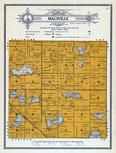 Macsville Township, Cottonwood Lake, Barrows Lake, Grant County 1914
