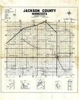 Jackson County Highway Map, Jackson County 1954